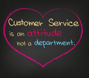 Hosting customer service